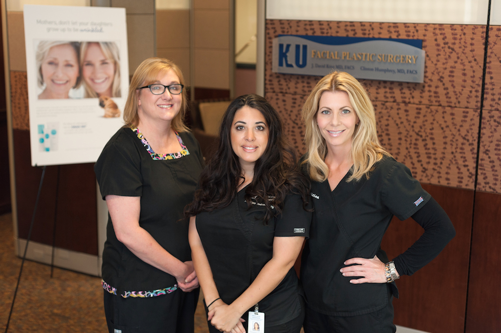 Nurses from KU Facial Plastic Surgery, photographed for HERLIFE Magazine's September Spotlight | © Lauren Frisch Pusateri